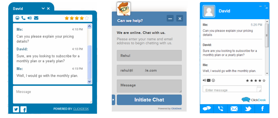 Live Chat from ClickDesk – Live Chat – Help Desk Plugin for ...