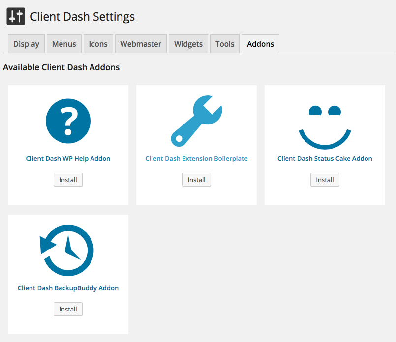 client-dash screenshot 7