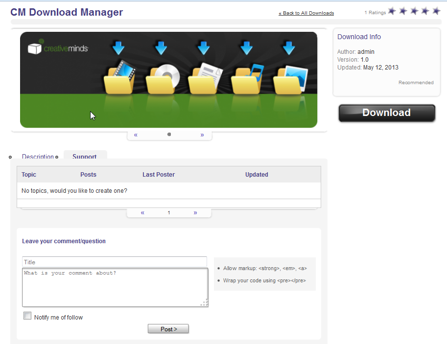 cm-download-manager screenshot 4