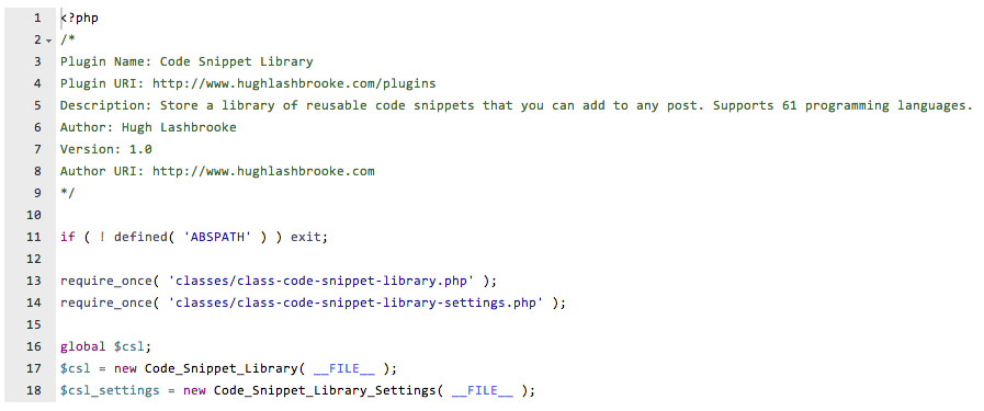 code-snippet-library screenshot 4