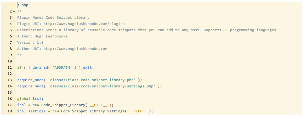 code-snippet-library screenshot 5