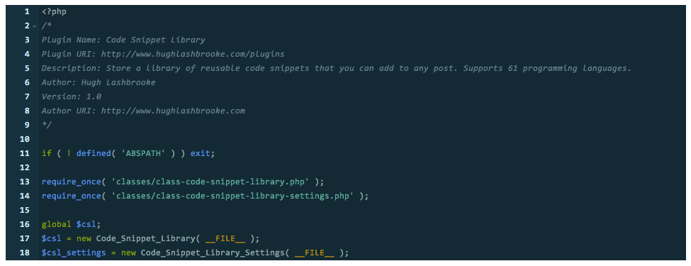 code-snippet-library screenshot 6