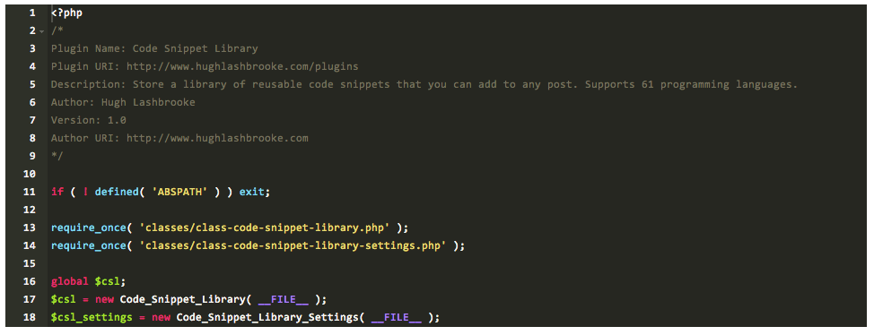 code-snippet-library screenshot 7