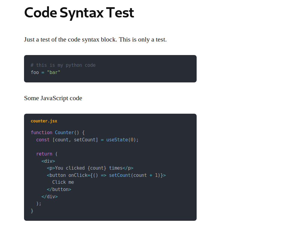 Code Syntax Block – WordPress plugin | WordPress org