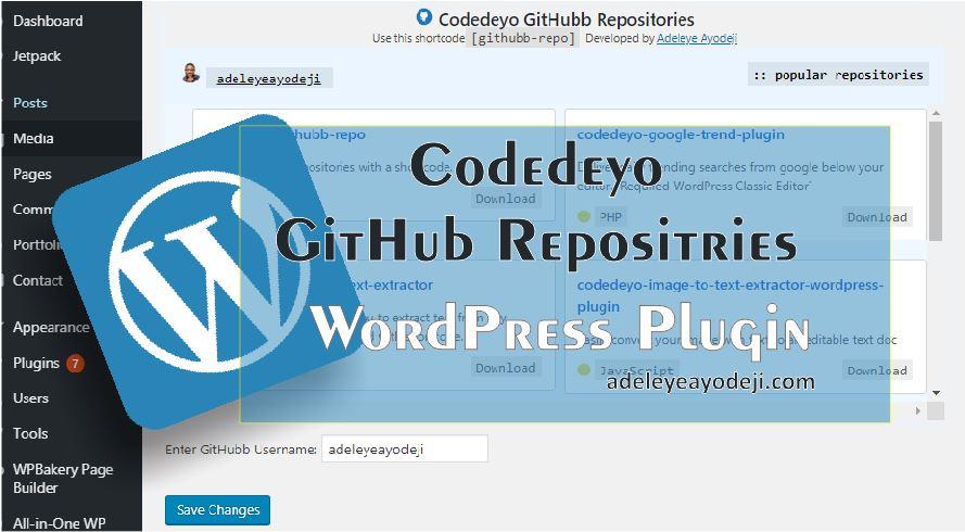 Codedeyo GitHub Repositories