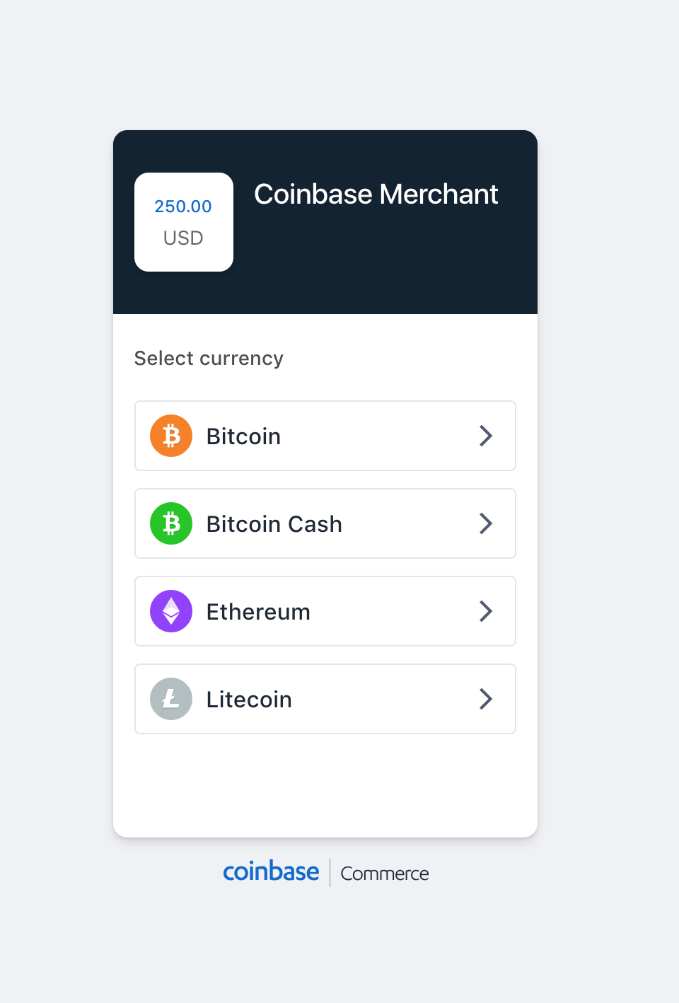 Coinbase Commerce Payment Gateway for WooCommerce
