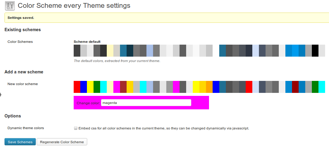Color scheme every theme wordpress plugins - Choose color scheme every room ...