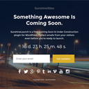 Coming Soon Pages – SunshineLaunch logo