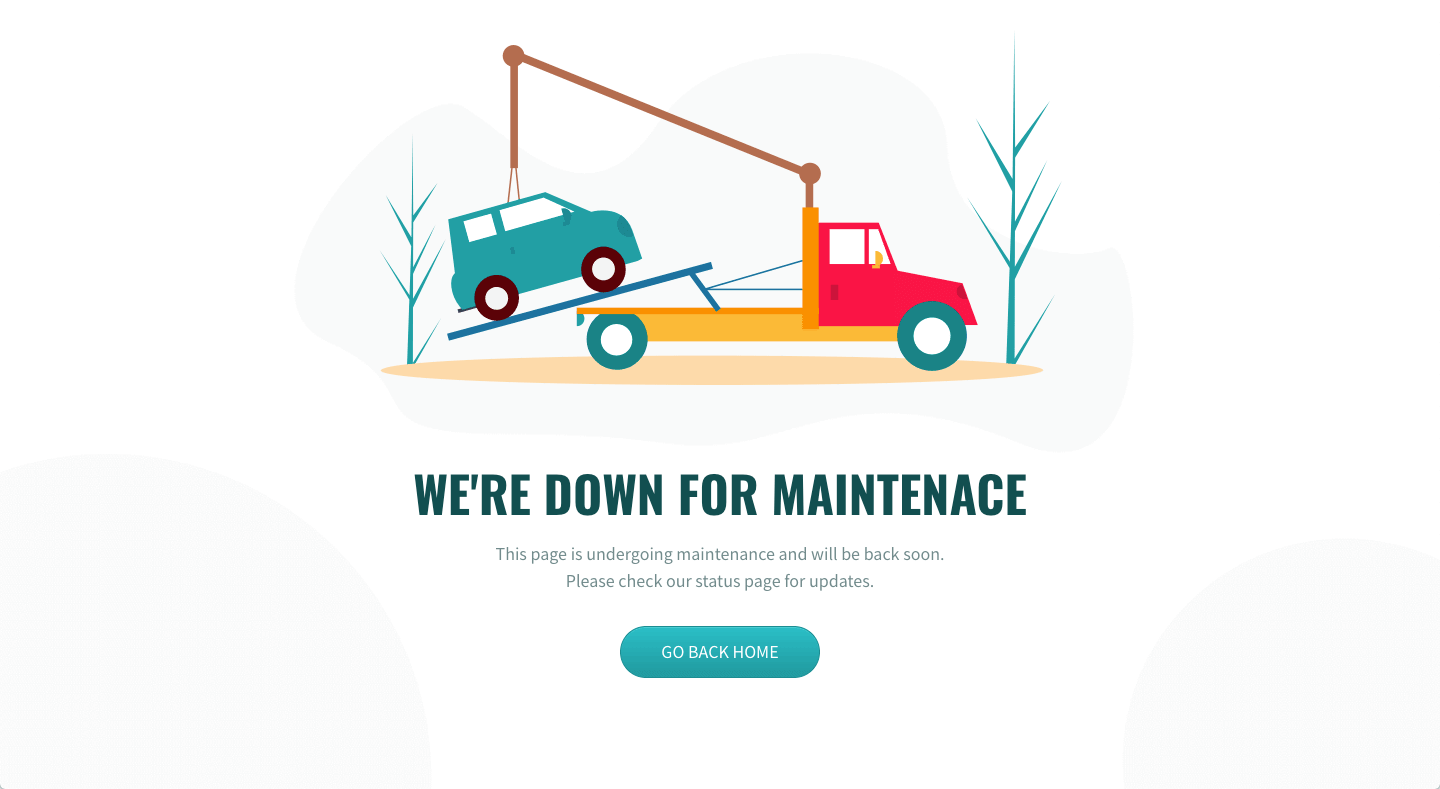 Sales Landing Page Example