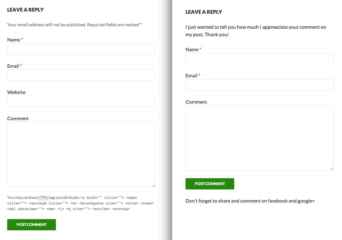 Advanced Comment Form — WordPress Plugins