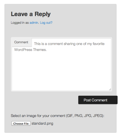 comment-images screenshot 1
