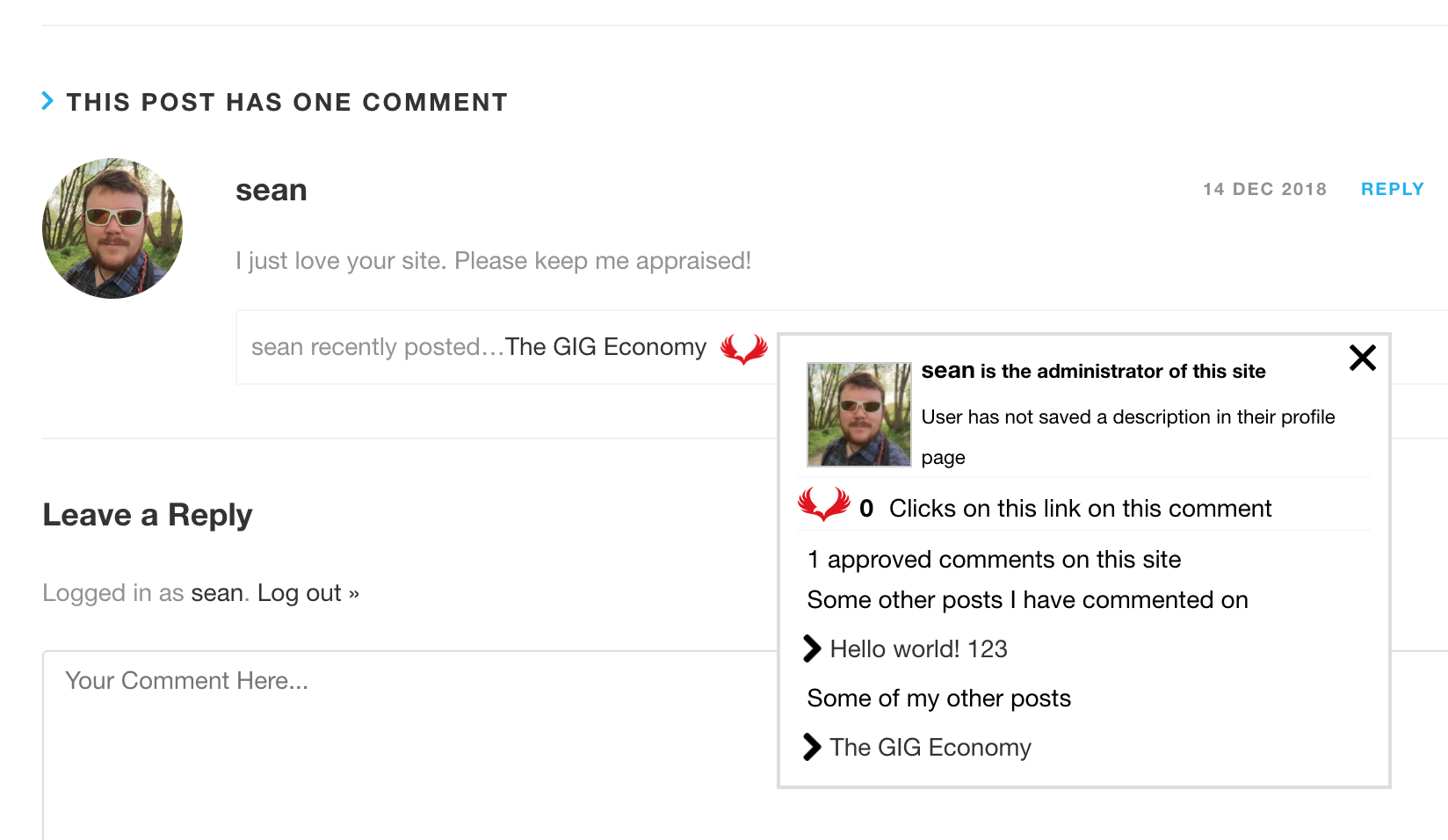 Comment Page 2 >> Commentluv Wordpress Plugin Wordpress Org