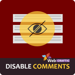 Wordpress Disable Comments Plugin by Webcraftic