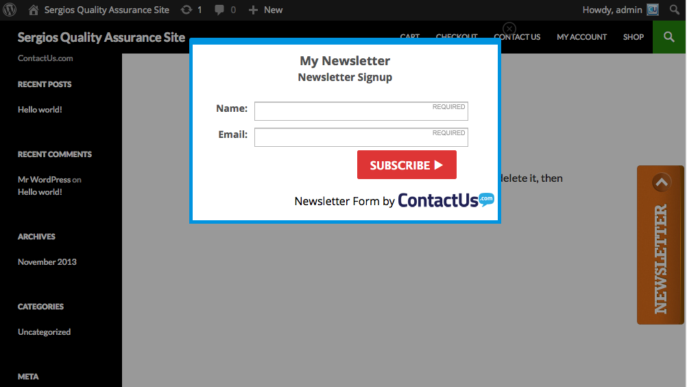 constantcontact-form screenshot 8