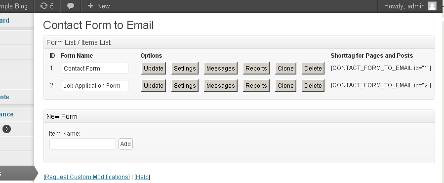 Contact Form Email — WordPress Plugins
