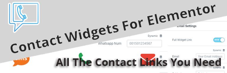 Contact Widgets For Elementor