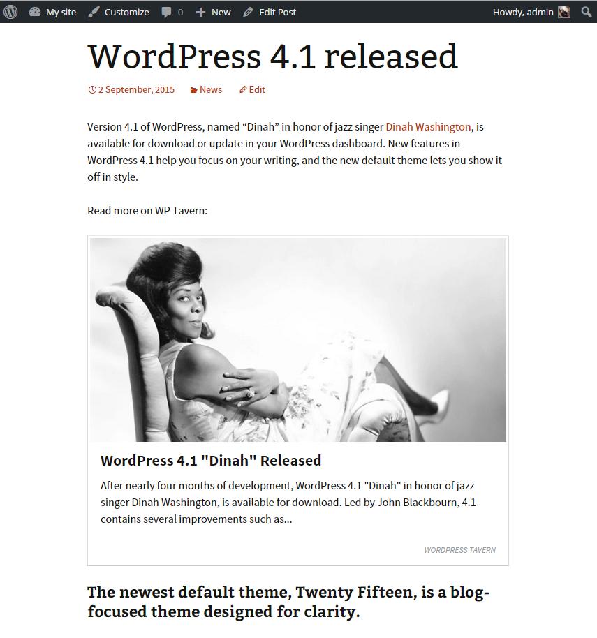 WordPressで内部・外部リンクをカード化できるプラグイン「Content Cards」の画像|Knowledge Base