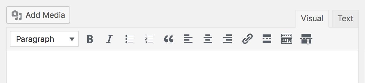 Content Parts editor icon.
