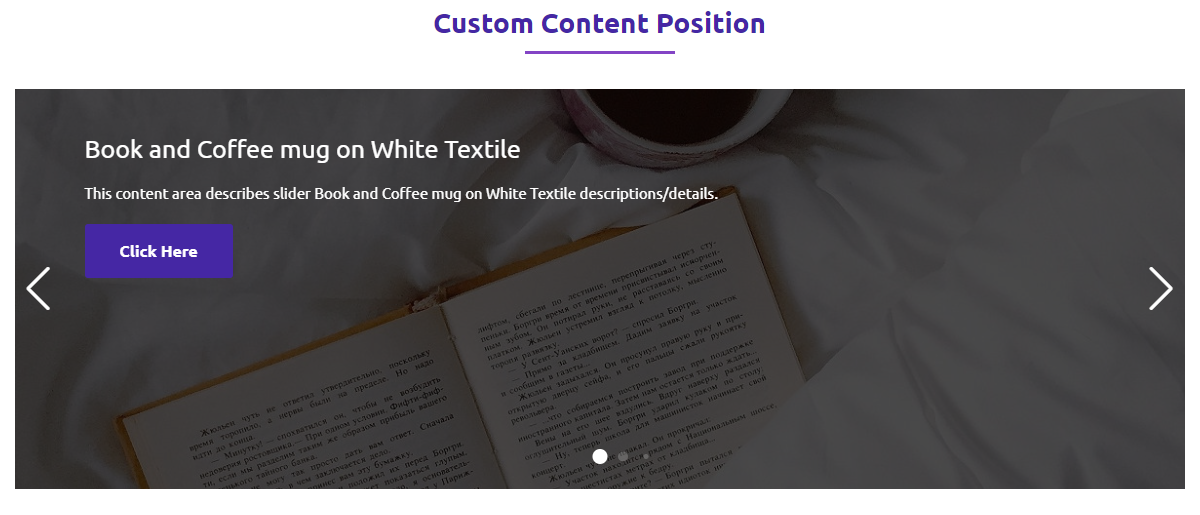 Slide With Solid Background