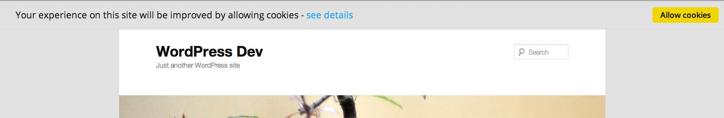The unobtrusive, customisable notification