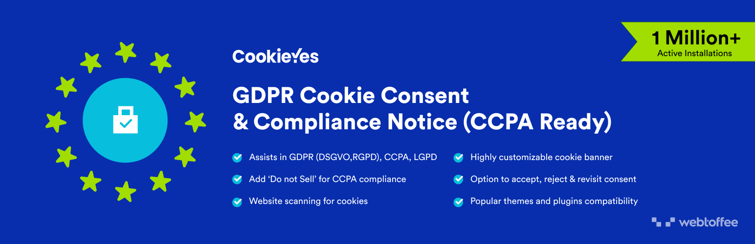 GDPR Cookie Consent (CCPA Ready)