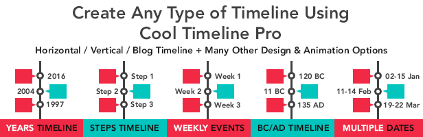 cool timeline  u2013 wordpress plugin