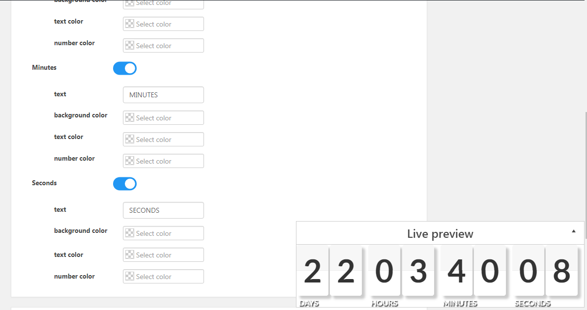Countdown – Countdown & Clock – WordPress plugin | WordPress org