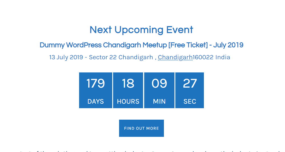 Calendario Countdown.The Events Calendar Countdown Addon Wordpress Plugin