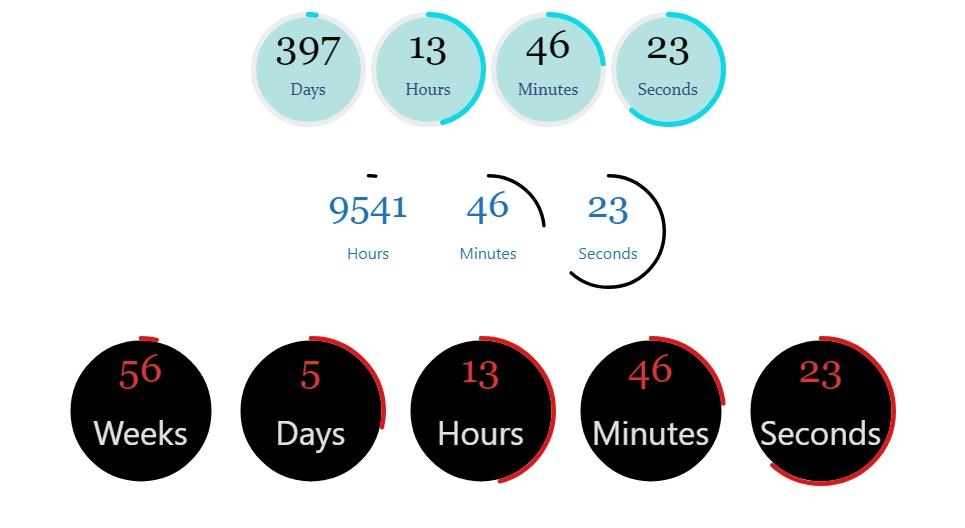 倒计时和倒数,WooCommerce销售计时器