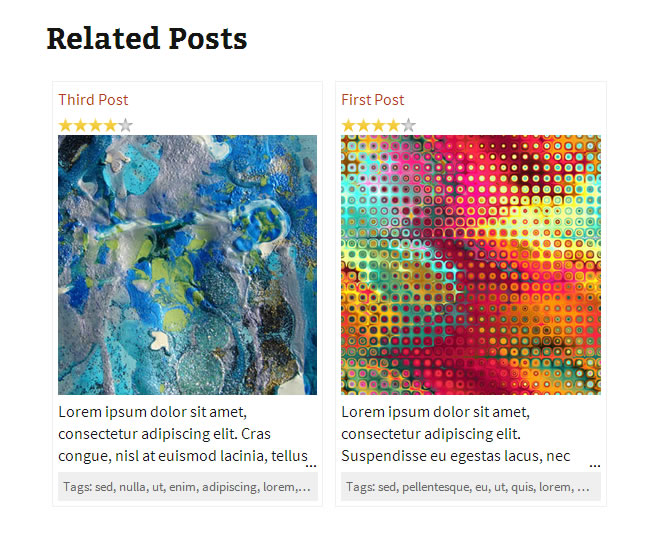 CP Related Posts with column layout