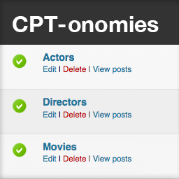 CPT-onomies: Using Custom Post Types as Taxonomies
