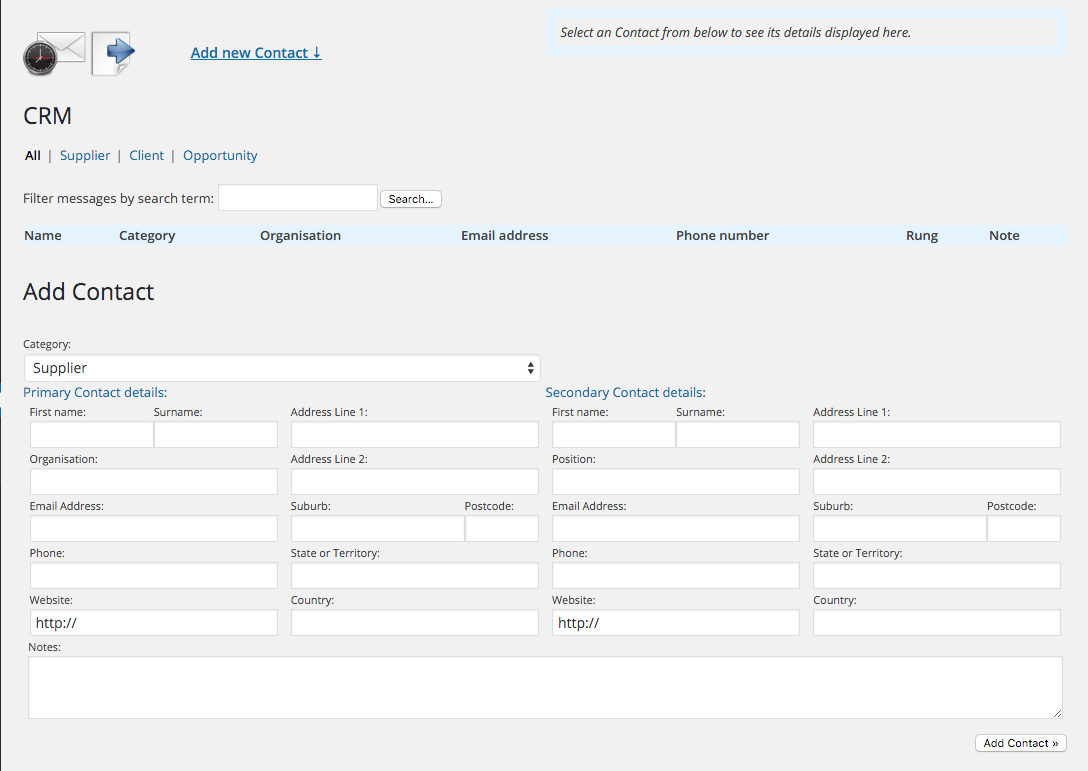 crm screenshot 1