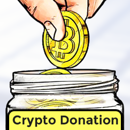 how to get cryptocurrency donations
