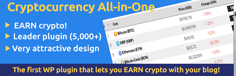 Cryptocurrency All-in-One