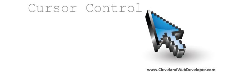 Cursor Control