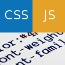 Simple Custom CSS and JS logo