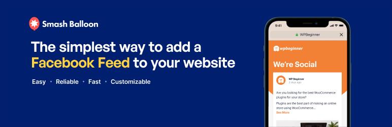 Smash Balloon Social Post Feed – WordPress plugin