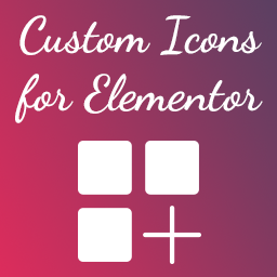 Custom Icons For Elementor Wordpress Plugin Wordpress Org