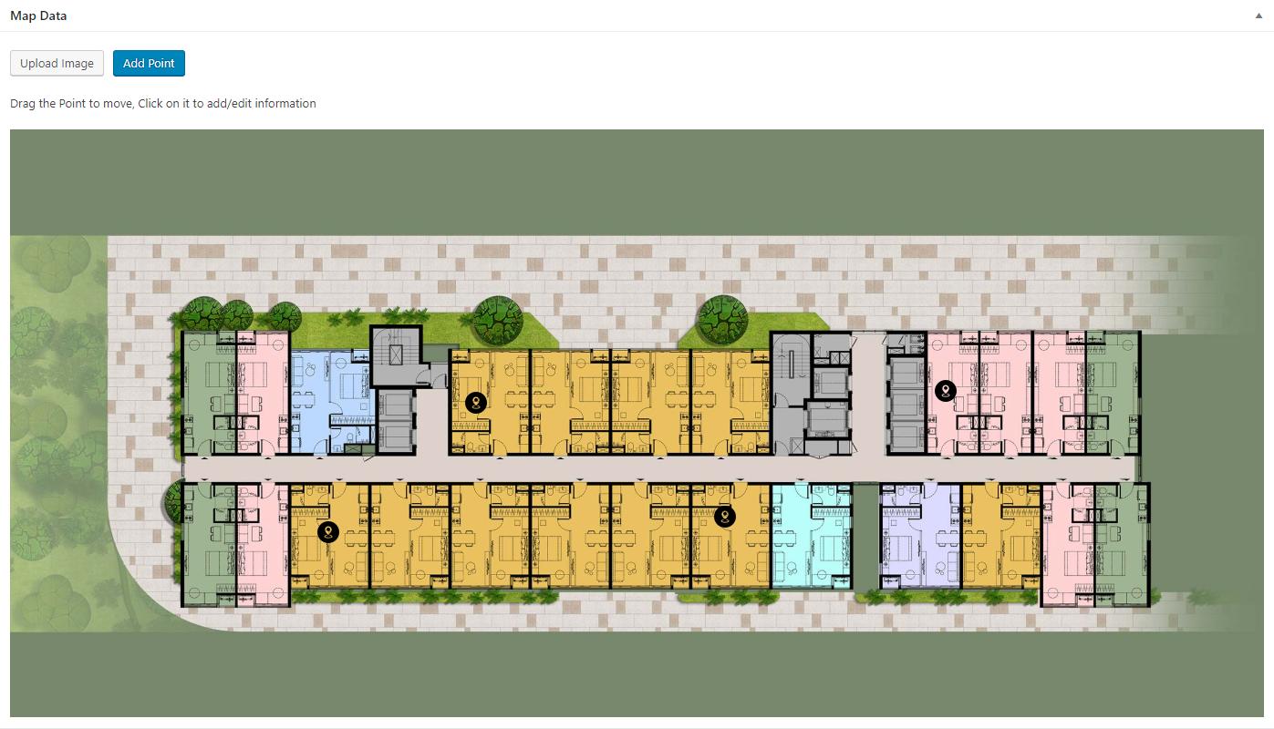 Custom Map for Real Estate
