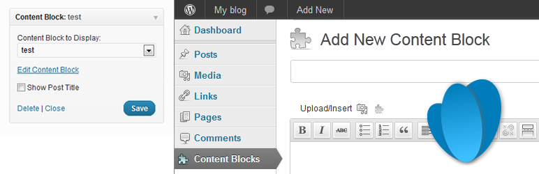 Content Blocks (Custom Post Widget)