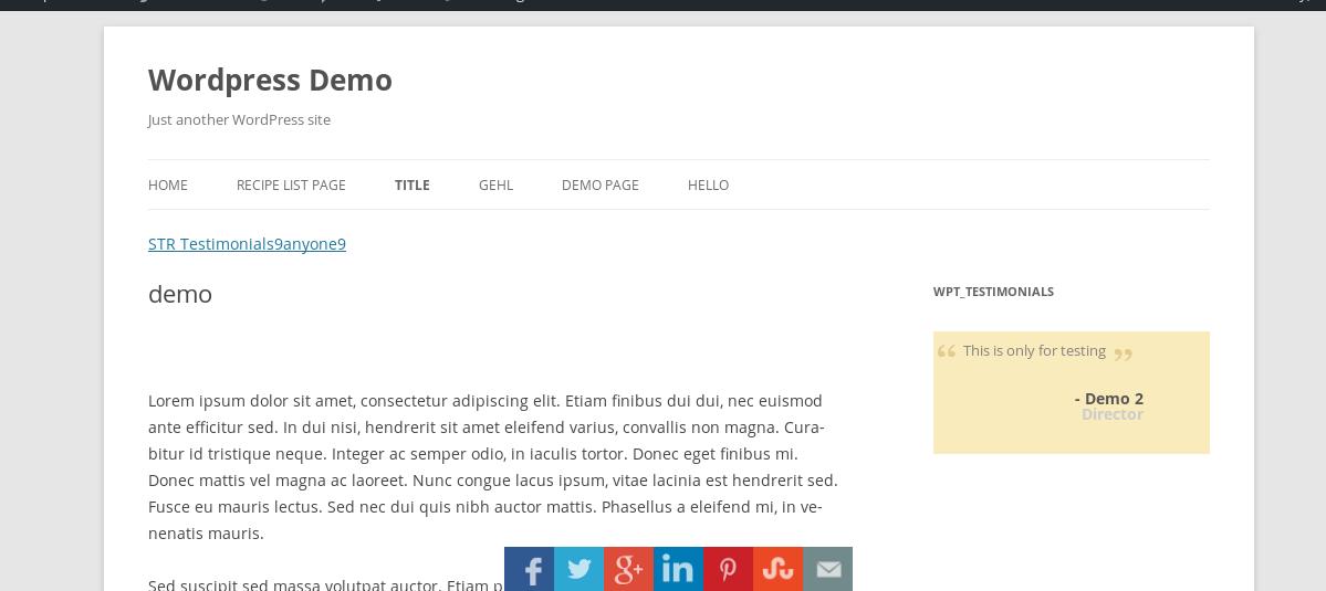 Custom Share Buttons with Floating Sidebar – WordPress plugin