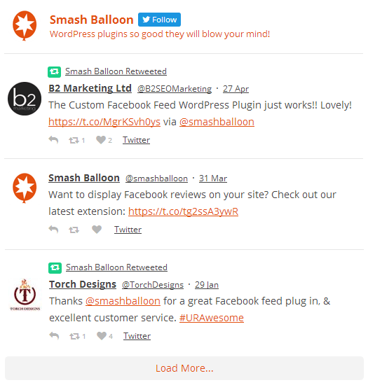 Custom Twitter Feeds | WordPress.org