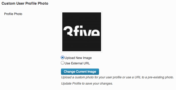 <p>After uploading and saving your selected image.</p>