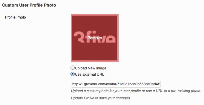 <p>On hover, Remove a URL to an external image.</p>