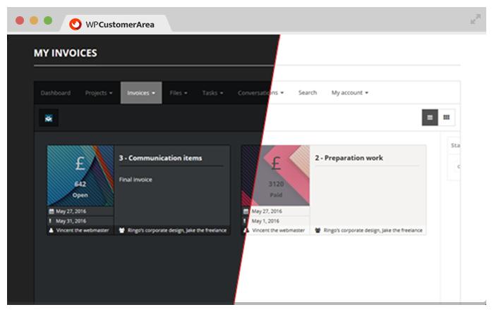 WP Customer Area – WordPress plugin | WordPress org