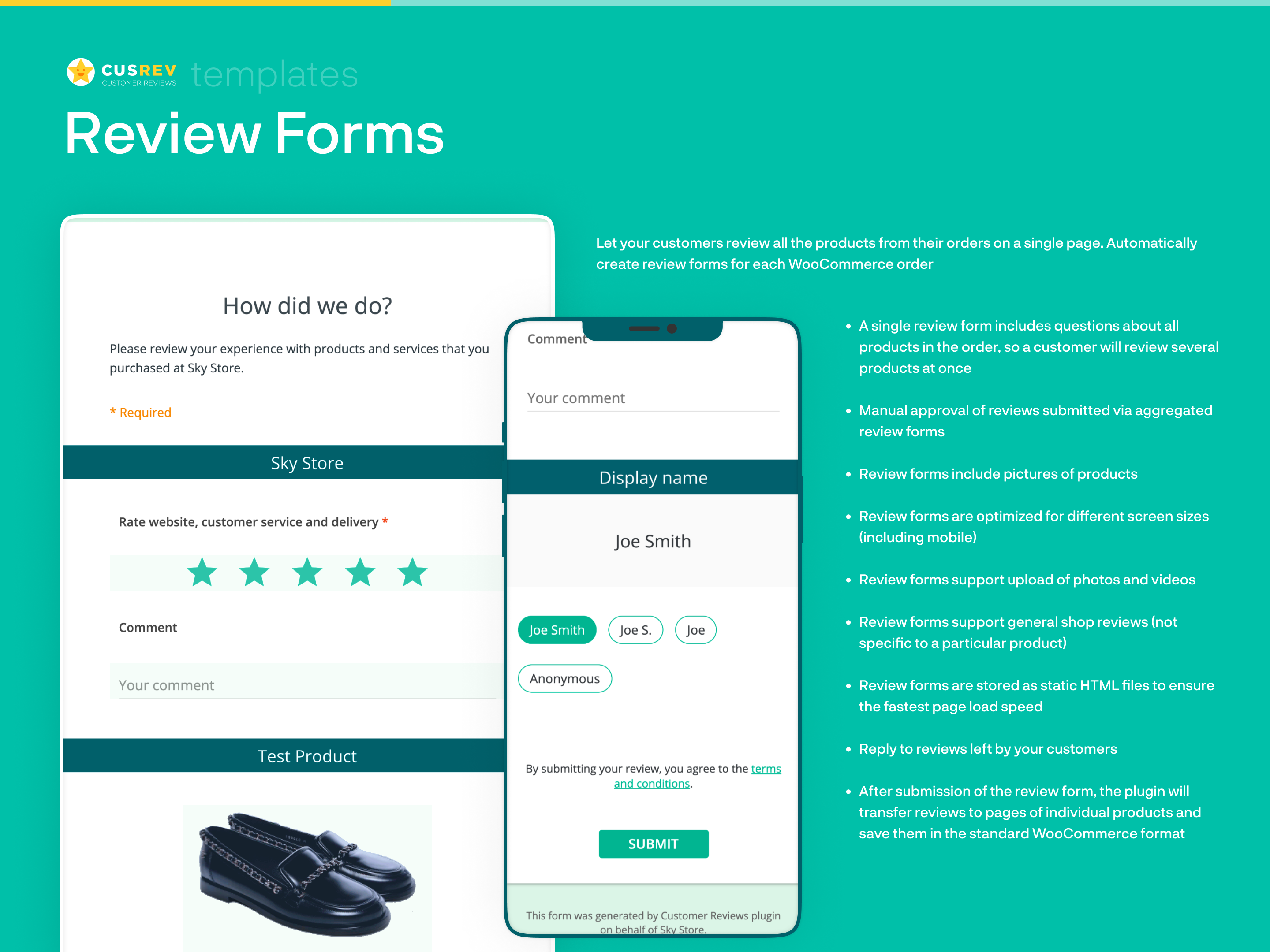 Review Forms