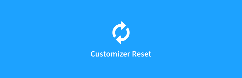 Customizer Reset – Export & Import