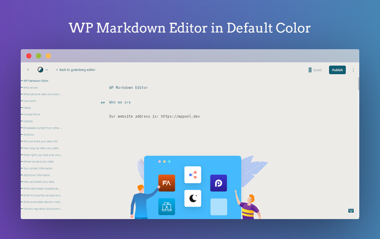 WP Markdown Editor (Formerly Dark Mode)