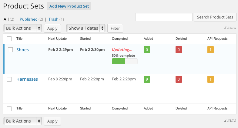 datafeedr-product-sets screenshot 3
