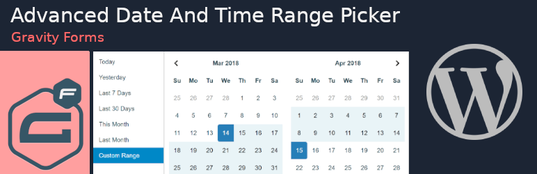 Date And Time Range Picker